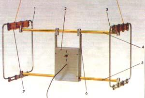 Двухрамочная приемная антенна.